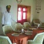 Dinner in the Maharani restaurant
