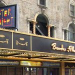 The Brooks Atkinson Theatre in West 47th St.