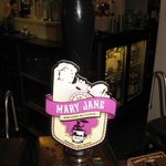 Mary Jane on tap at The Royal Oak Inn