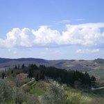 Panoramica dalla pieve di San Leolino