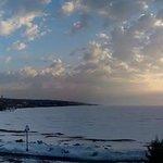 Sunrise over Lake Superior (camera phone picture)