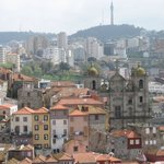 The balcony view of Porto