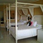 Chambres très belles et spacieuses