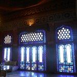L'un des salons : le salon bleu