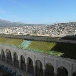 Très belle vue sur Fes, de la terrasse