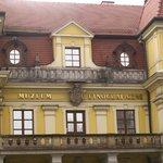 The front façade