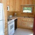 Kitchen in cabin 14