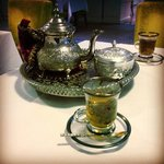 Moroccan afternoon tea