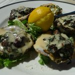 Oysters Turtlefeller at Turtle Club