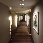 Der Gang zum Zimmer in der 9. Etage