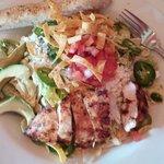 Spicy Chicken Tortilla Salad