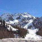 Isola 2000 ski slopes
