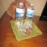 COMPLIMENTARY WATERS AND HOMEMADE TOFFEE