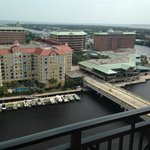 View of Harbor Island from our room.