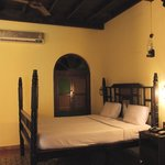 chambre style colonial