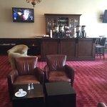 Hotel bar . . .