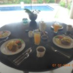 Our lavish Breakfast..