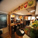 The Stonemasons is renowned for its range of local real ales