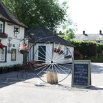 The Stonemasons is famous for its penny farthing