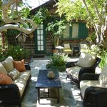 Relaxing Courtyard Patio