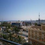 Vista del puerto de Alicante 3ª planta