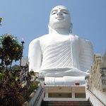 Der weisse Buddha über Kandy