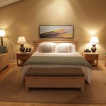 Spacious guestrooms