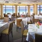 Lido Restaurant above the beach