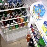 Füllung des Kühlschranks