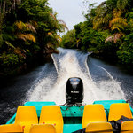 Transportation through the Tortuguero Canals
