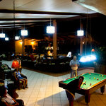 Game Room at Turtle Beach Lodge