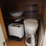 Very basic kitchen equipment