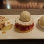 Strawberry shortcake.. yummy!!
