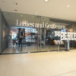Beatles exhibition entrance