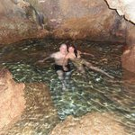 The cave swimming