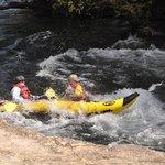 ma n pa cruisin down the river....