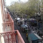 108 Ramblas Street View from 3 flr.