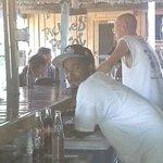 Kareem and Eugene,  Pickled Parrot, Placencia, Belize