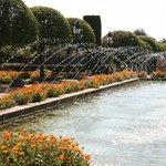 Wasserlandschaft im Garten des Alcazar
