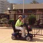 benidorm's nexted mad madge, love it or hate it!!!