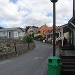 Maori village street