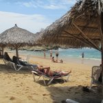 beach in front of Barracuda bar - preferred section