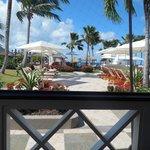 view from breakfast/lunch buffet