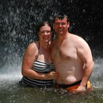 tour to volcanic mud bath and waterfall