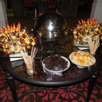 chocolate buffet one night in lobby