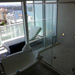 W Fort Lauderdale Bathroom and view!