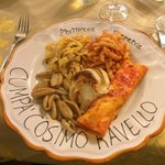 The best meal I had all week in Italy!