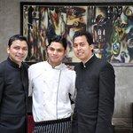 Wasim and Manoj - Staff who became friends
