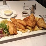 my John Dory and chips
