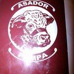 "le logo du asador la ""pampa"""